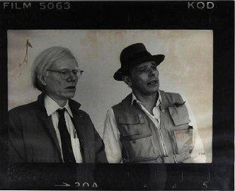 Joseph BEUYS & Zoa (XX), Beuys & Andy Warhol