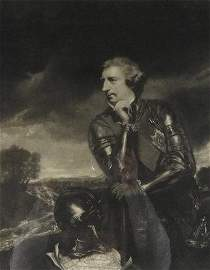 Fine Engraving of Sir Jeffery Amherst, 1776