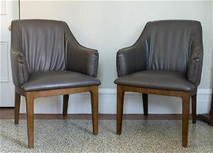 Pair of Structube Armchairs