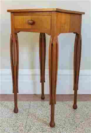 Art Nouveau Period Lamp Table