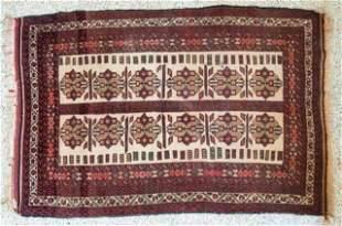 Persian Tribal Baluchi Rug, Circa 1970