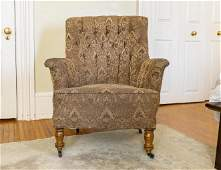 Mid Victorian Wire Back Armchair