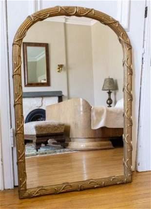 Contemporary Gilt Wood Mirror