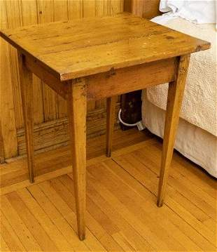 Canadian Pine Side Table