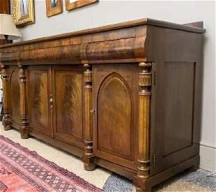 Victorian Mahogany Sideboard