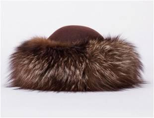 Anita Pineault Fur Hat