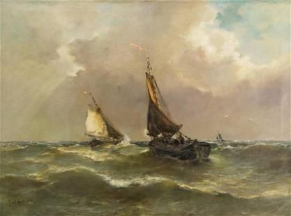Jan Van Der Linde (1864-1945) Dutch