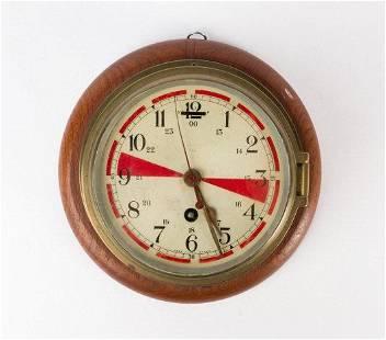 Ship's Bulkhead Wall Clock