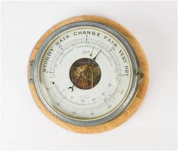Holosteric Compensated Brass Barometer