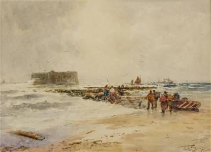 Thomas Bush Hardy (1842-1897) British