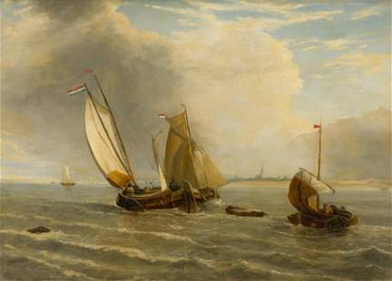 Attributed John W. Carmichael (1800-1868) British