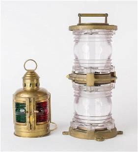 PERKO Marine Cast Brass Lamp & Lantern
