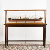 Fine Builder's Steamship Model, The Lord Strathcona