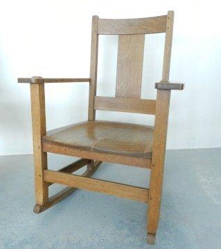 Arts & Crafts Limbert Rocking Chair