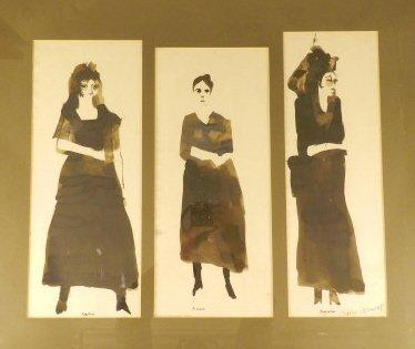 Art Ink on Paper - Charles Dunlop