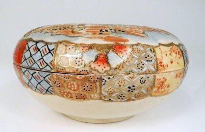 Satsuma Porcelain Covered Dish