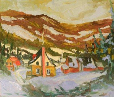Art - Claude Rollin (b. 1950, Canada)
