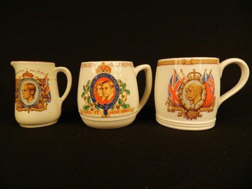 Royalty Memorabilia by Myott, Meakin & Burgess