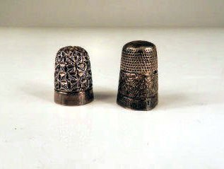 Sterling silver thimbles