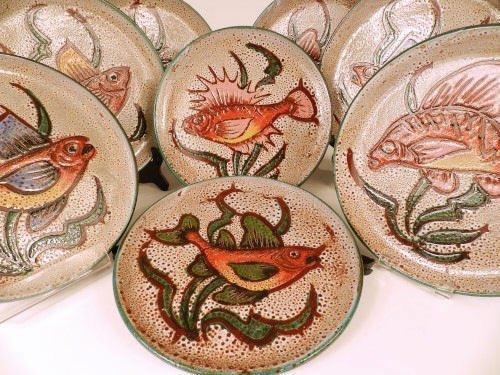 Mid-century modern Vallauris Pottery France
