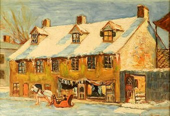 Art - George Delfosse (1869-1939, Canada)