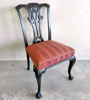 Furniture Chippendale style chair
