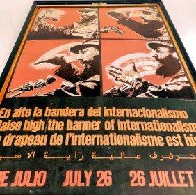 Poster Cuba Castro