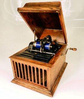 Thomas A. Edison Amberola Phonograph