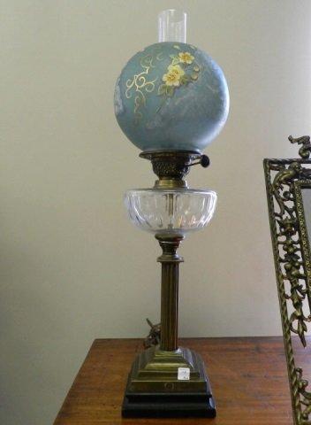 Lighting oil lamp