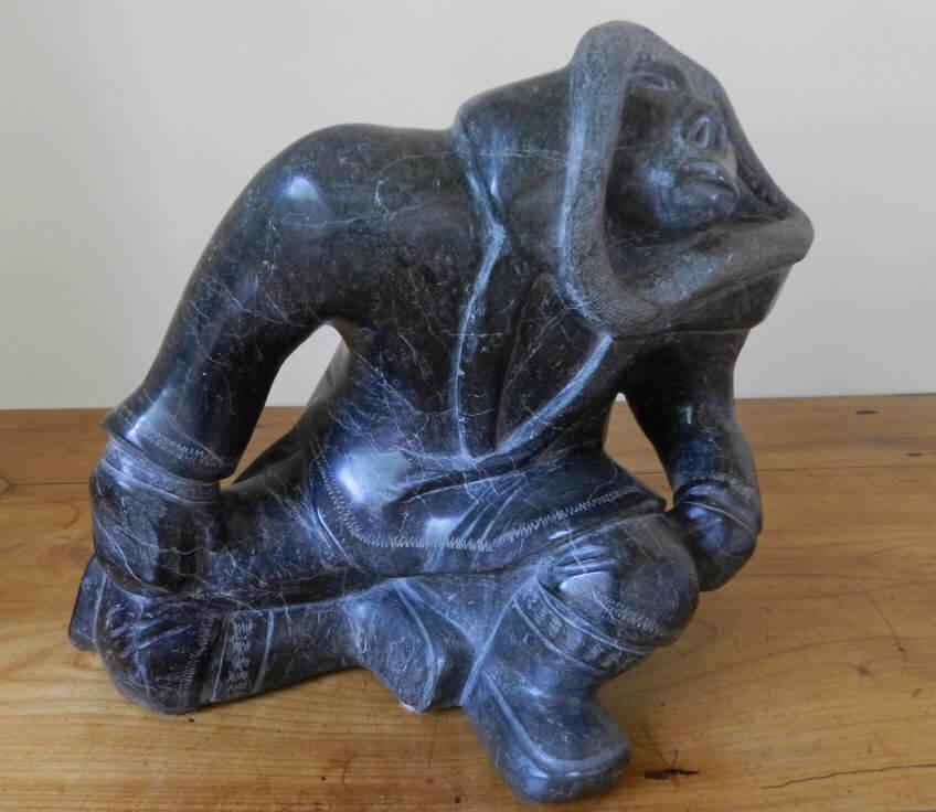 Art - Inuit carving ADAMEE