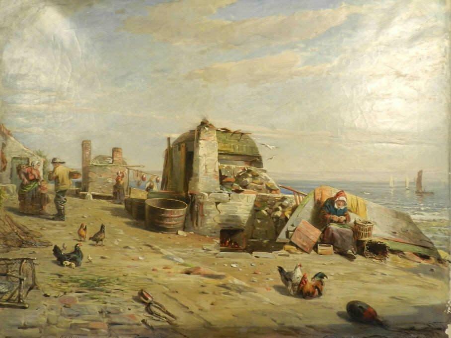 Art - Robert T. ROSS (1816-1876, British)