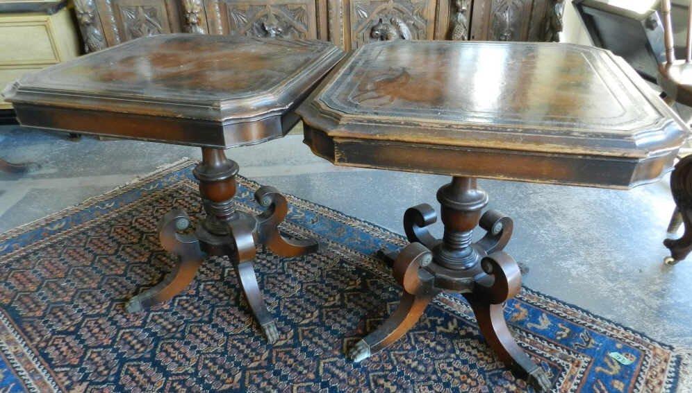 Furniture Regency style tables