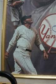 Babe Ruth 11x14 Framed Canvas