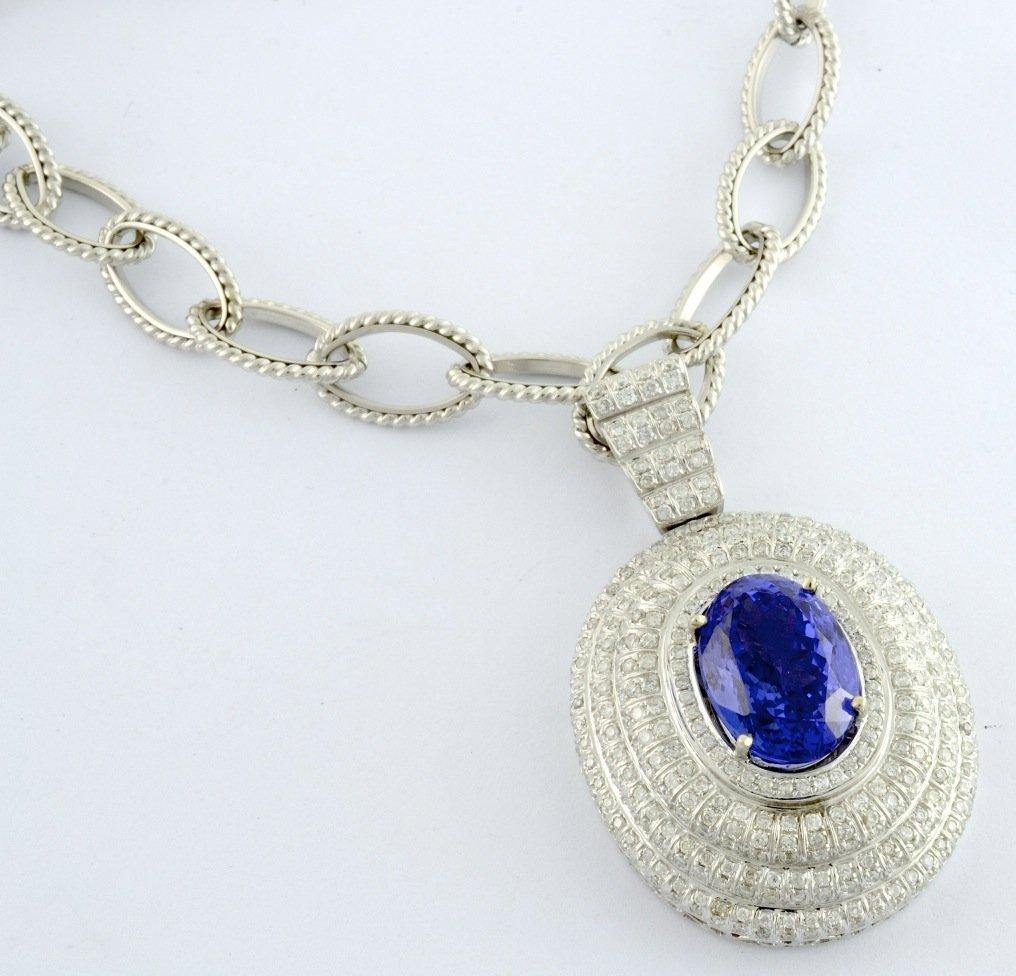 Tanzanite & Diamond Necklace AV: $39,675