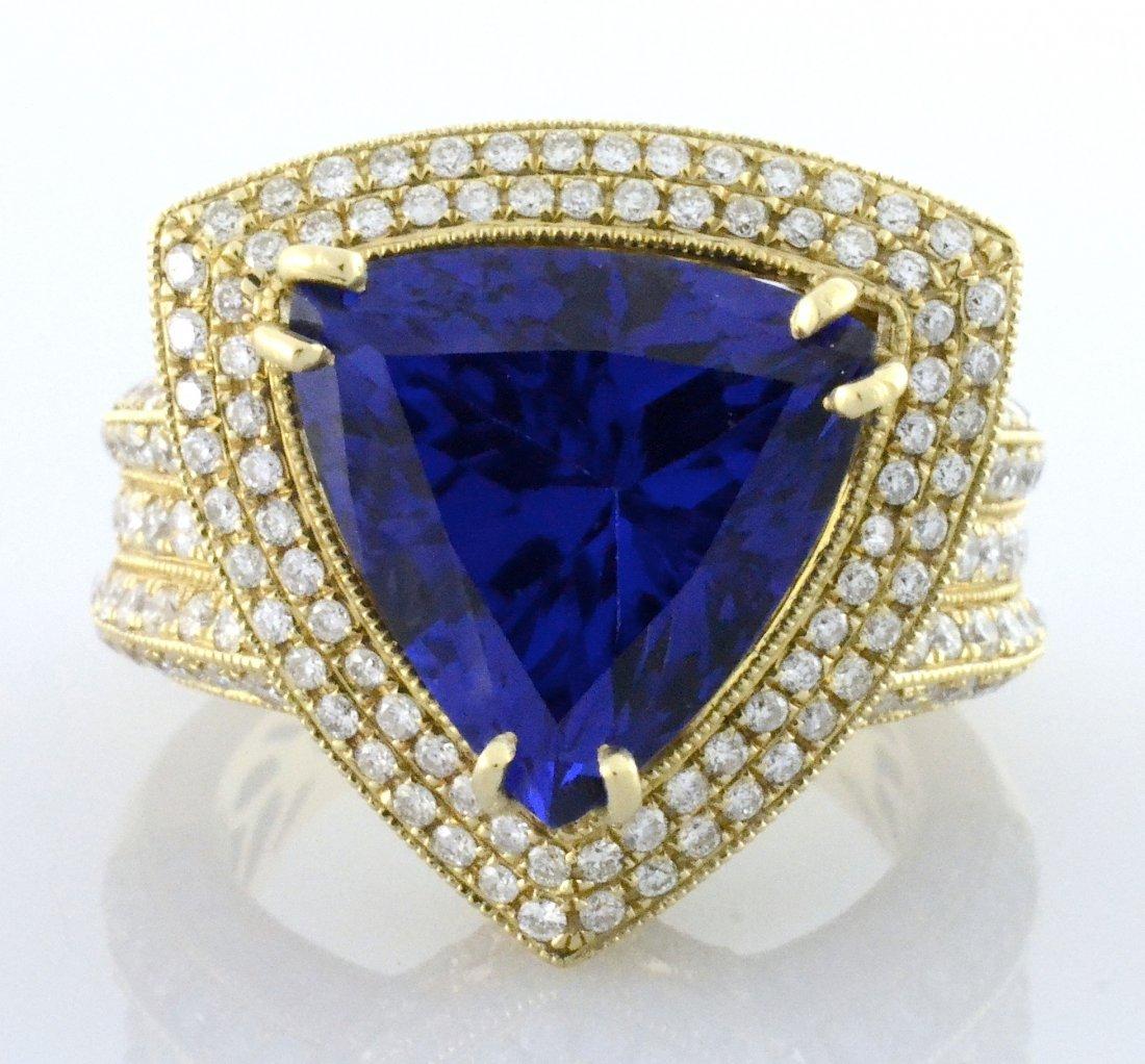 Tanzanite & Diamond Ring Appraised Value: $29,380