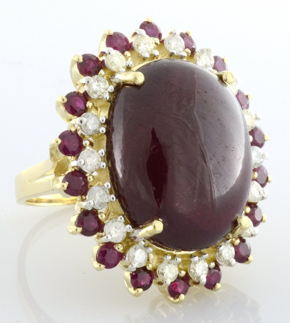 Ruby & Diamond Ring Appraised Value: $10,180