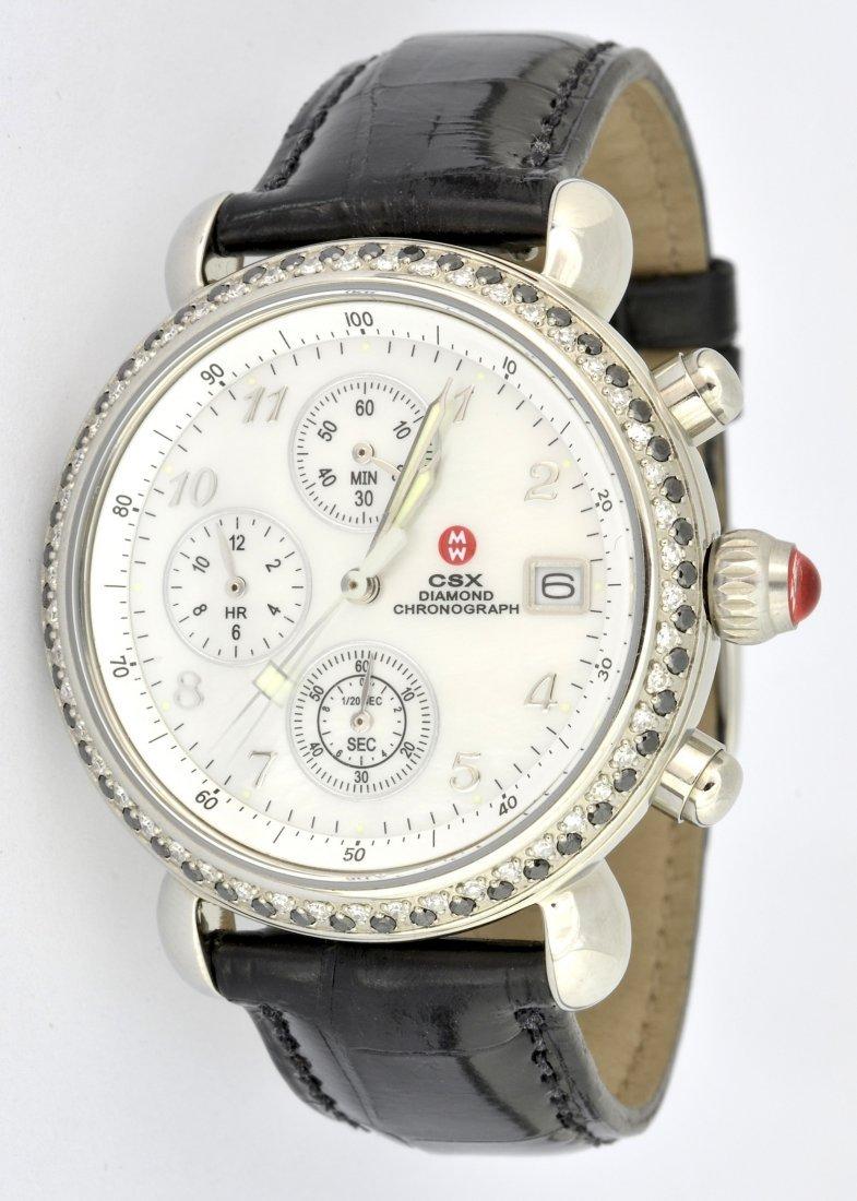 Michele W. CSX w/ Diamonds Watch
