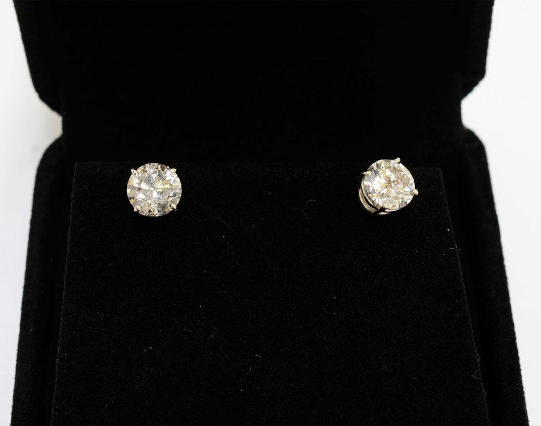 Diamond Earrings Appraised Value: $18,285