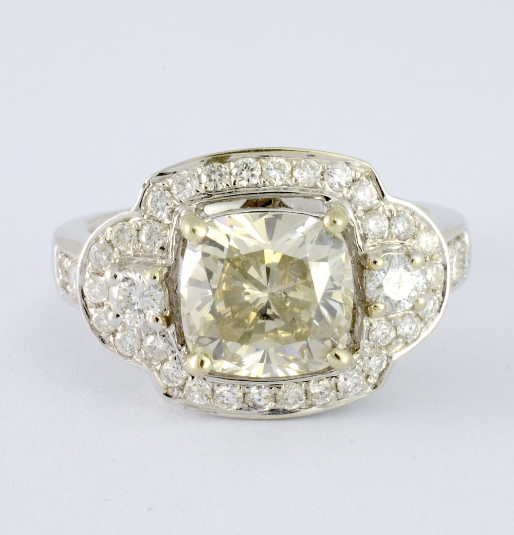 Diamond Ring Appraised Value: $21,725
