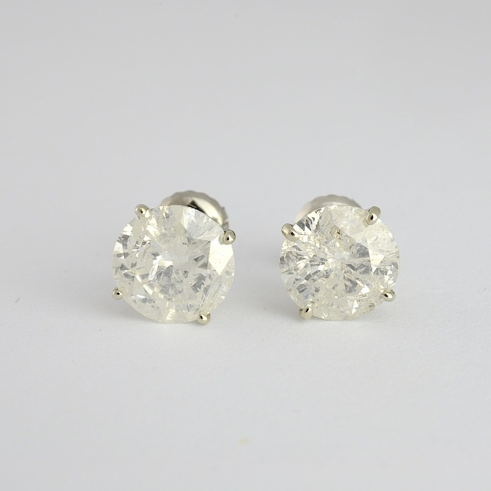 Diamond Earrings Appraised Value: $20,100