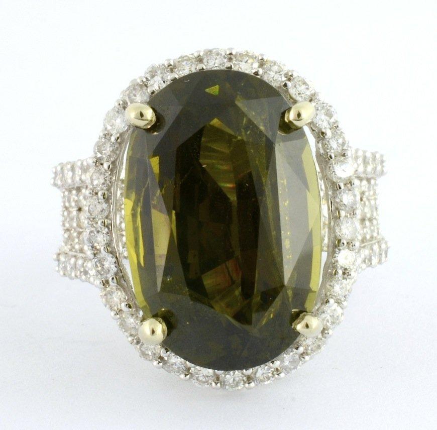 Alexandrite & Diamond Ring (GIA CERT.) AV: $79,825