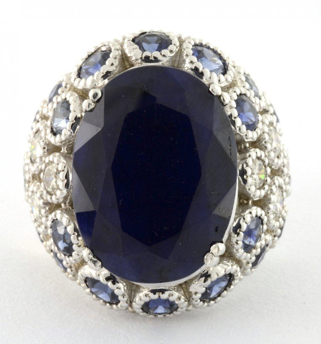 Sapphire & Diamond Ring Appraised Value: $10,040