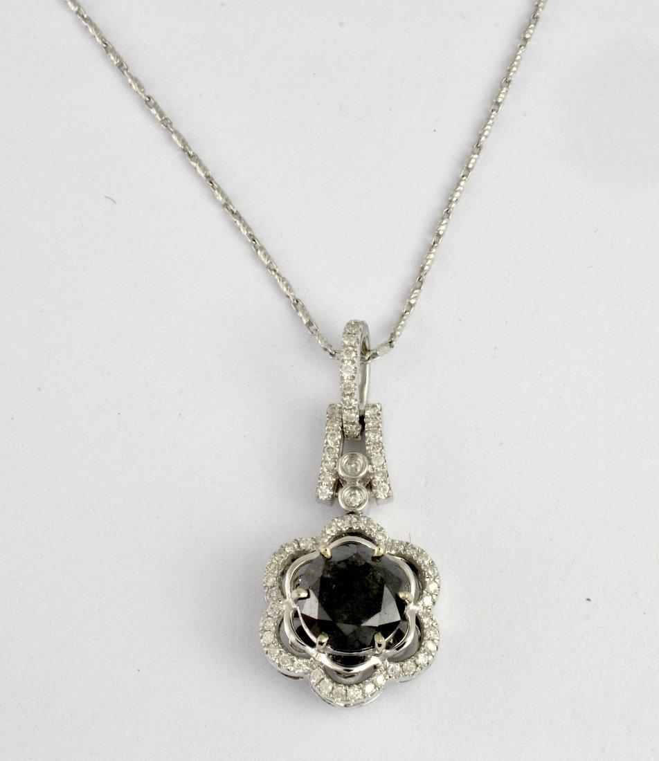 Black & White Diamond Necklace AV: $4,000