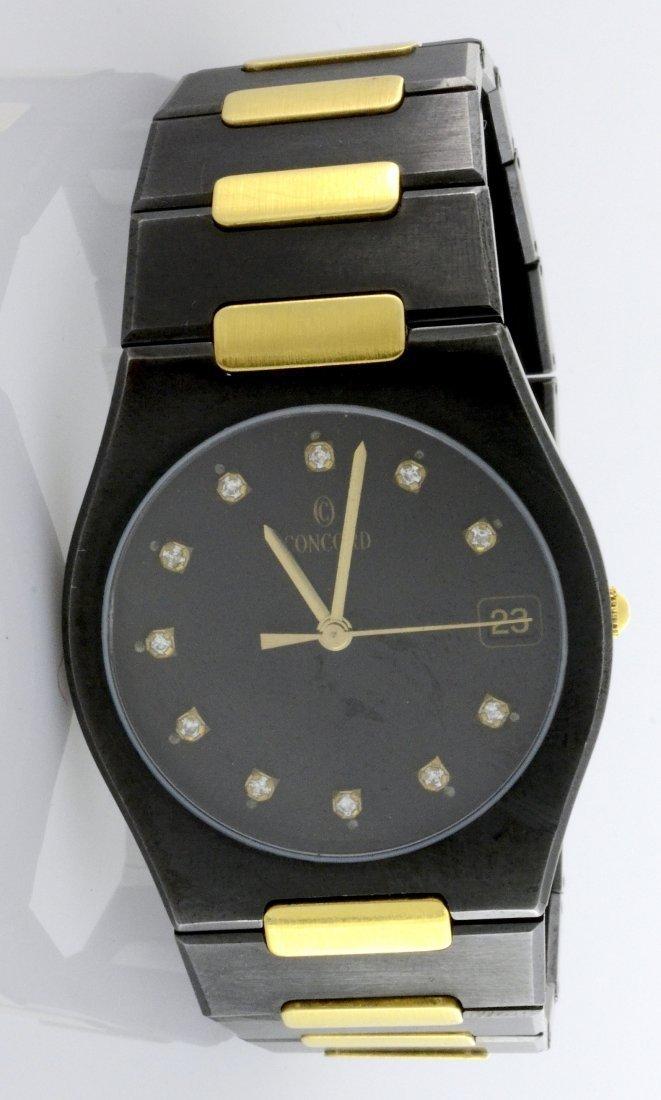 Concord Wristwatch (w/ Diamonds)