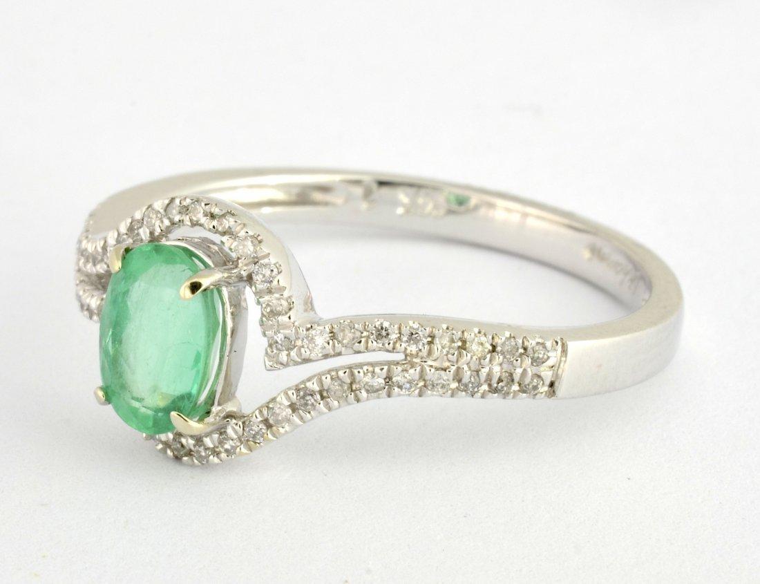 Emerald & Diamond Ring Appraised Value: $1,580