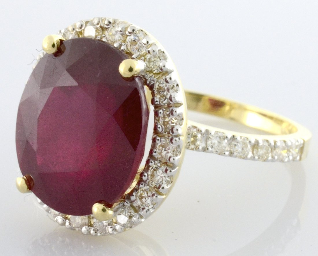Ruby & Diamond Ring Appraised Value: $4,090