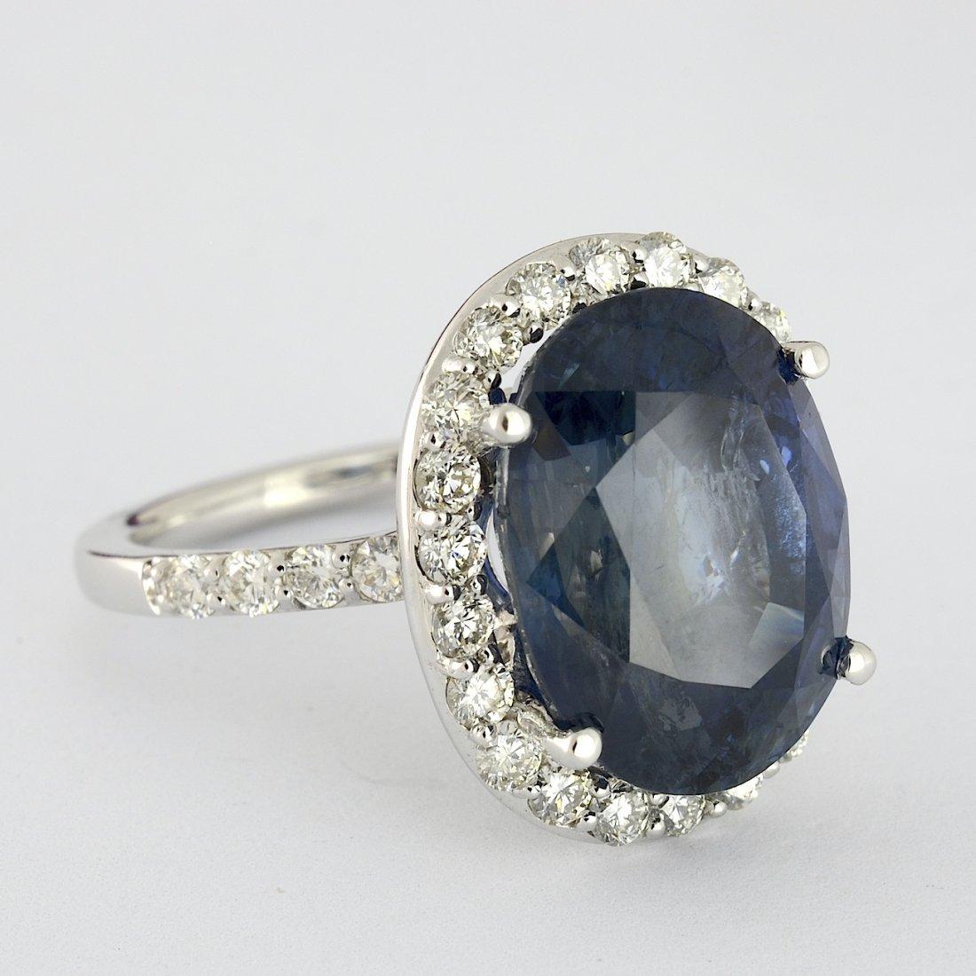 UNHEATED Sapphire & Diamond Ring (GIA) AV: $190,790
