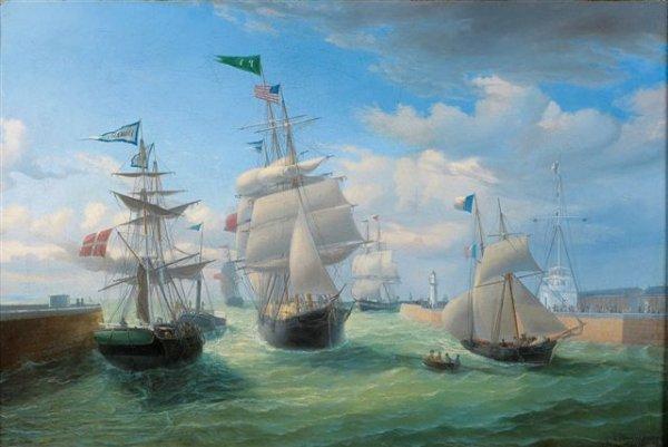 1: Louis-Ambroise GARNERAY (1783-1857) Swedish Port Oil