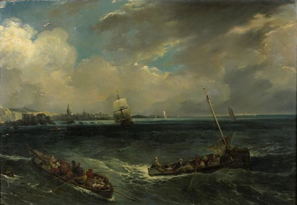 2: Jules-Achille NOËL (1815-1881) Marine 1944 au dos. S