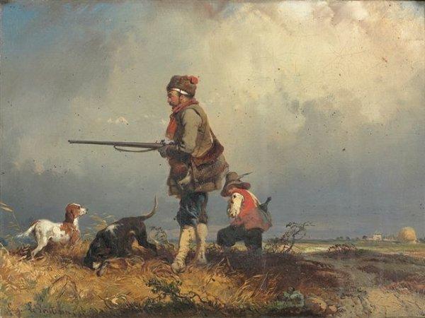 6: Eugène LE POITEVIN (1806-1870) 24,5 x 33 cm - 91/2 x